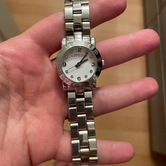 Marc Jacobs silver watch